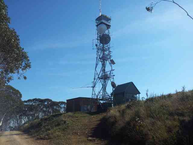 Lookout tower at Mt Terrible
